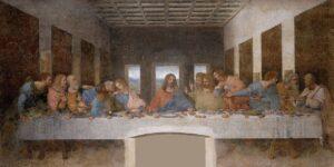 pintura la última cena