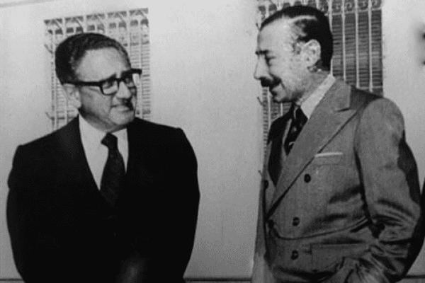 Kissinger y Videla, plan condor