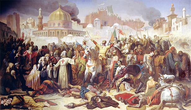 Representación de las cruzadas