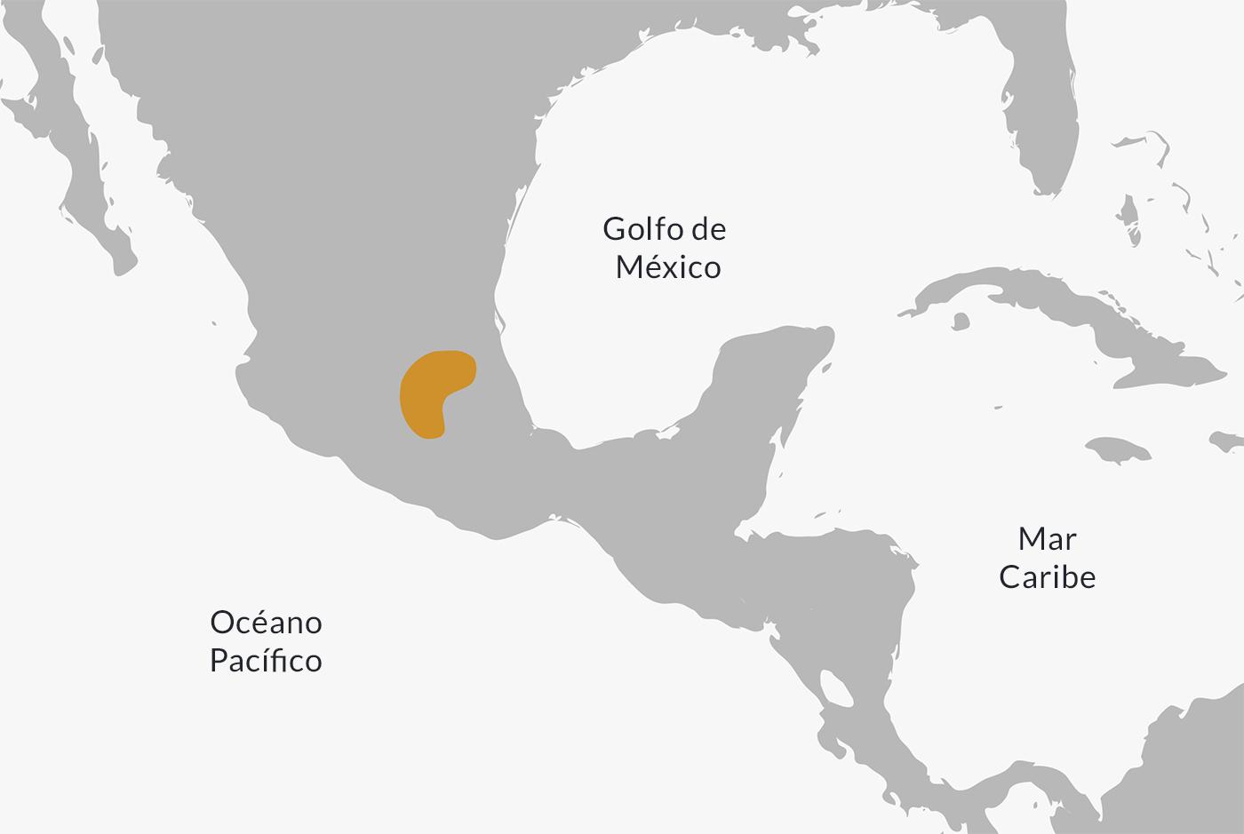 Ubicación de la cultura tolteca.