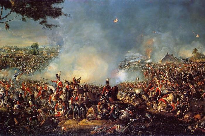 caída del imperio napoleónico