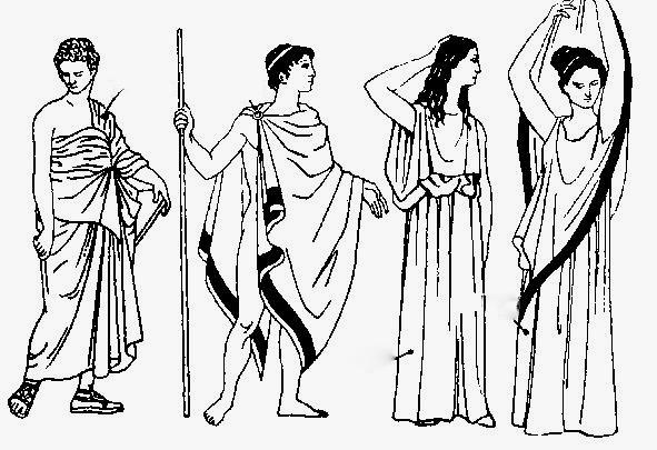 Vestimenta de la cultura griega