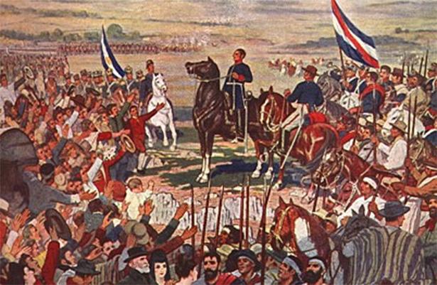 Artigas y Rondeau, batalla de Cepeda