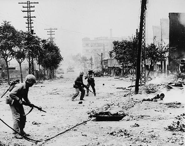 Estados Unidos en la Guerra de Corea