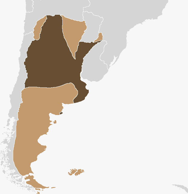 Map of the Argentine Confederation
