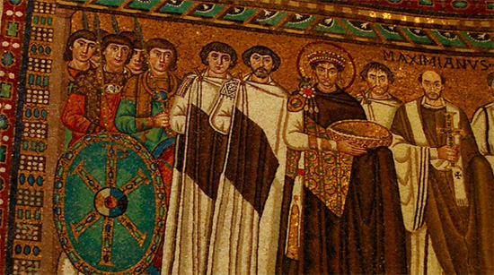 Mosaico de la religión del Imperio Bizantino