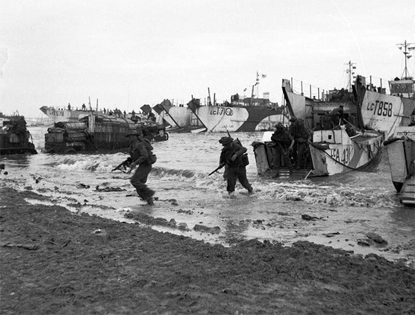 Soldados británicos en la Segunda Guerra Mundial