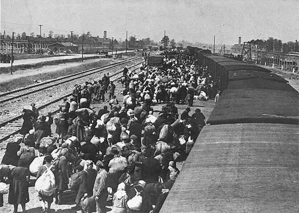 Judíos en Auschwitz