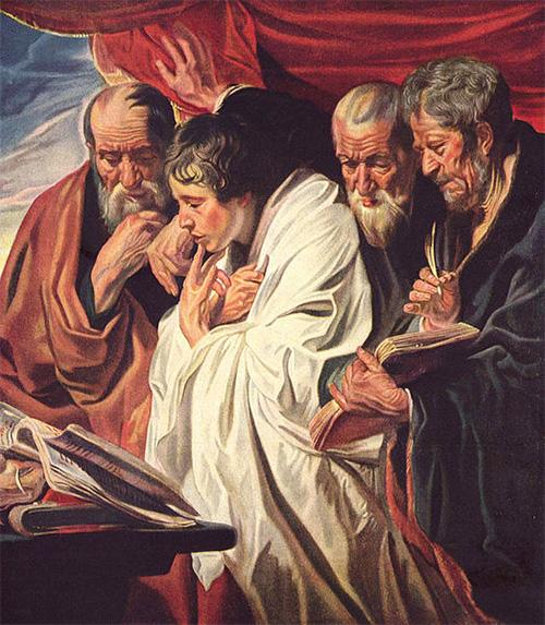 Los cuatro evangelistas del Nuevo Testamento