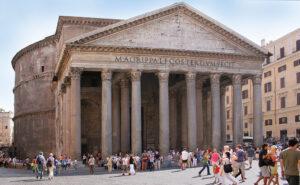 fotografía del Panteón de Agripa