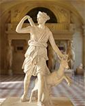 Imagen de la diosa Diana.