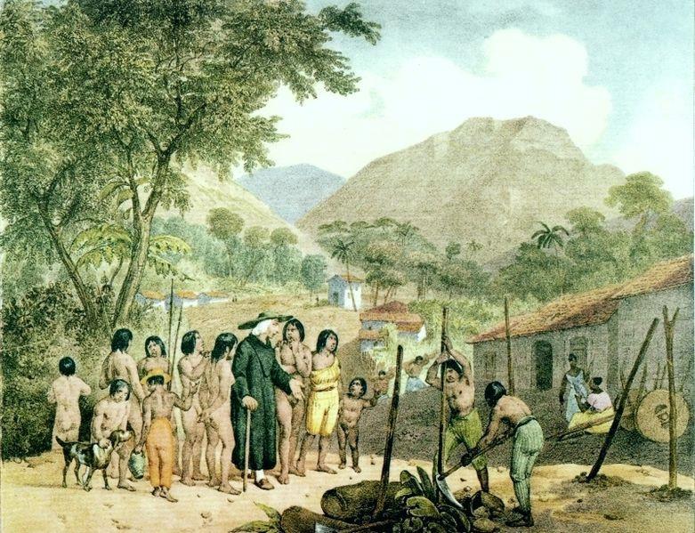 Misiones evangelizadoras durante la conquista de América