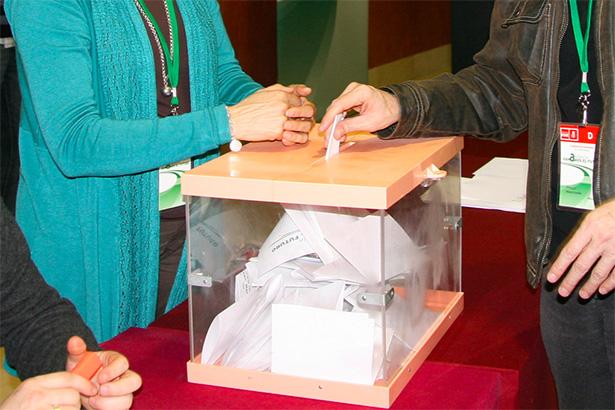 Voto en democracia