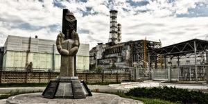Monumento a las víctimas de Chernobyl