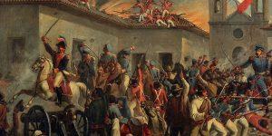 Ilustración de la batalla de Rancagua