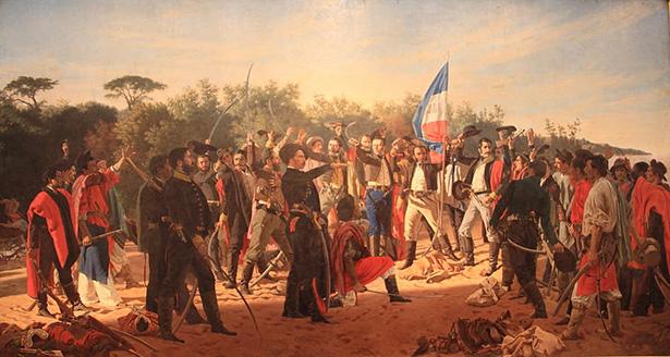 Juramento de los 33 orientales en la independencia de Uruguay