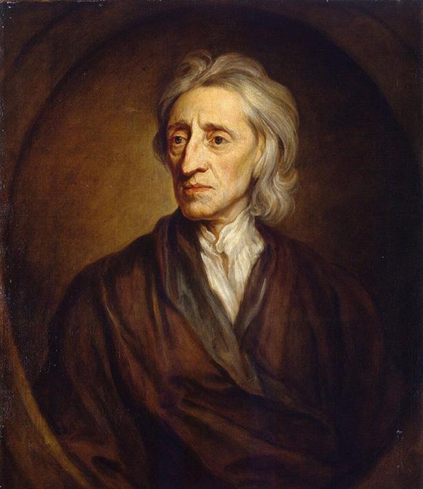 retrato de John Locke