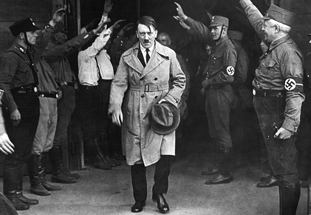 fotografía de Hitler