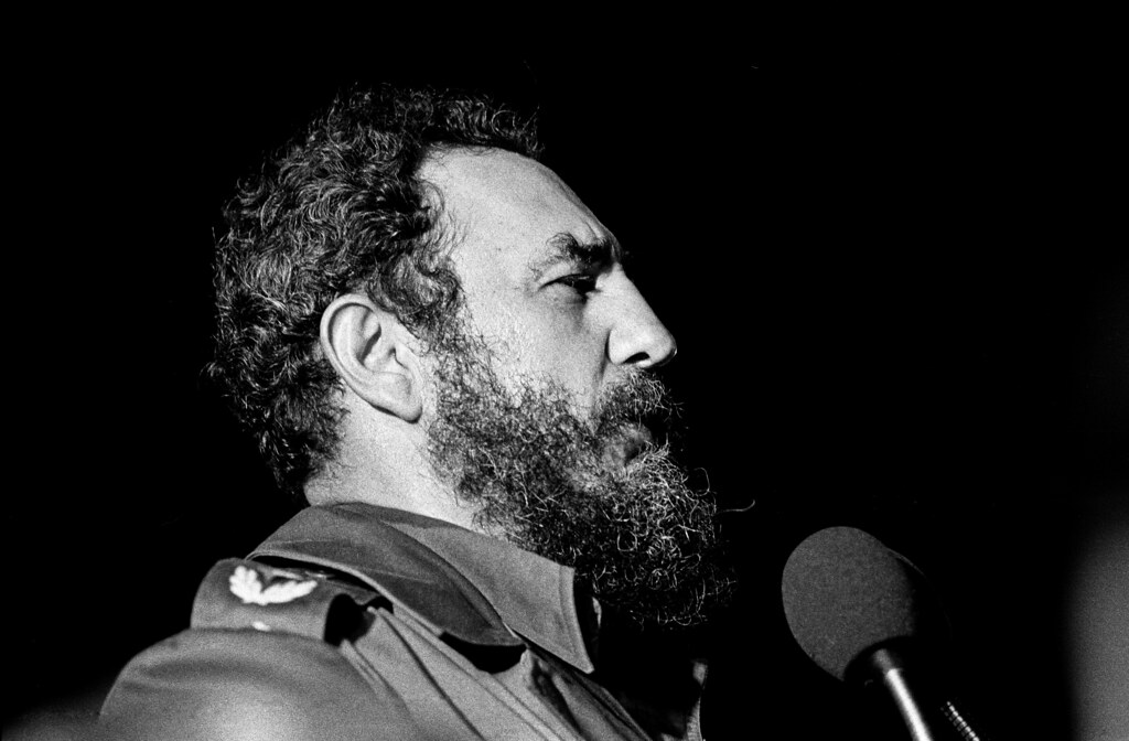 Fotografía de Fidel Castro