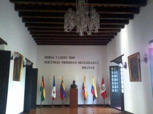 Fotografía del congreso de Angostura