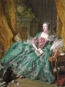 "Pintura ""Portrait of Madame Pompadour"""