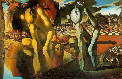 Óleo de Dalí