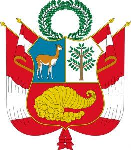 Imagen del escudo del Perú