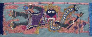 Pieza textil de la cultura paracas
