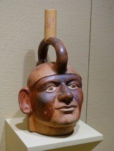 Foto de cerámica mochica