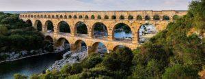 Foto del puente del Gard