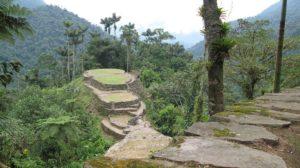 Foto de terrazas circulares y calzadas de piedras en Teyuna