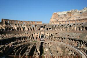Fotografía del Coliseo romano