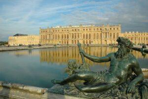 fotografía del palacio de Versalles