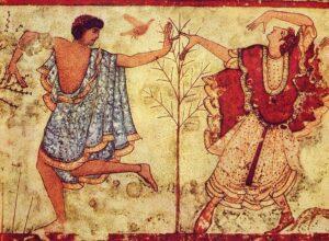 Imágen de pintura etrusca