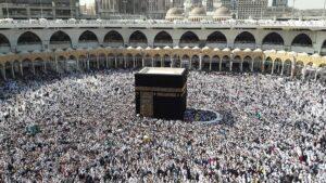 fotografía de La Kaaba