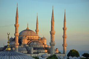 Fotografía de la mezquita azul