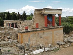 foto de las Ruinas del palacio de Cnoso