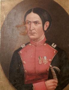 Portrait of Juana Azurduy