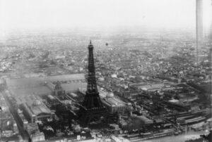 fotografía aérea torre Eiffel