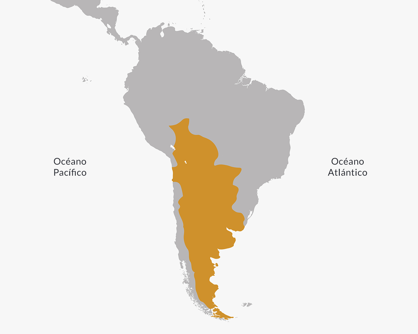 Territorio del Virreinato del Río de la Plata.