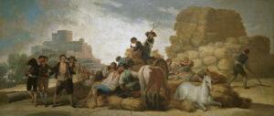La era (1786-87), obra del pintor español Francisco de Goya