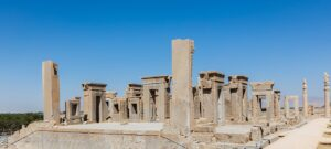 Ruinas del palacio real de Persépolis