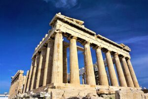 fotografía del Partenón