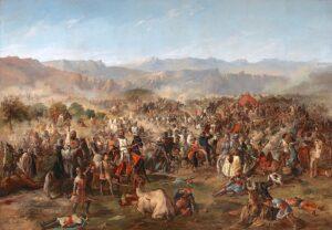 pintura de la batalla de navas de tolosa