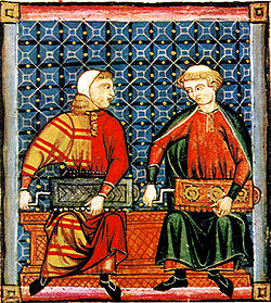 Ilustración de las Cantigas de Santa María
