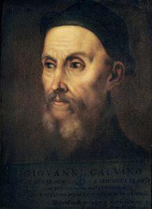 Retrato de Juan Calvino
