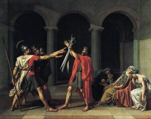 El juramento de los Horacios
