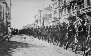 foto de soldados estadounidenses en Vladivostok