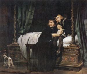 Los príncipes de la Torre (1831). Óleo de Paul Delaroche