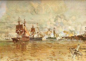 Battle of the Vuelta de Obligado | Naval War History
